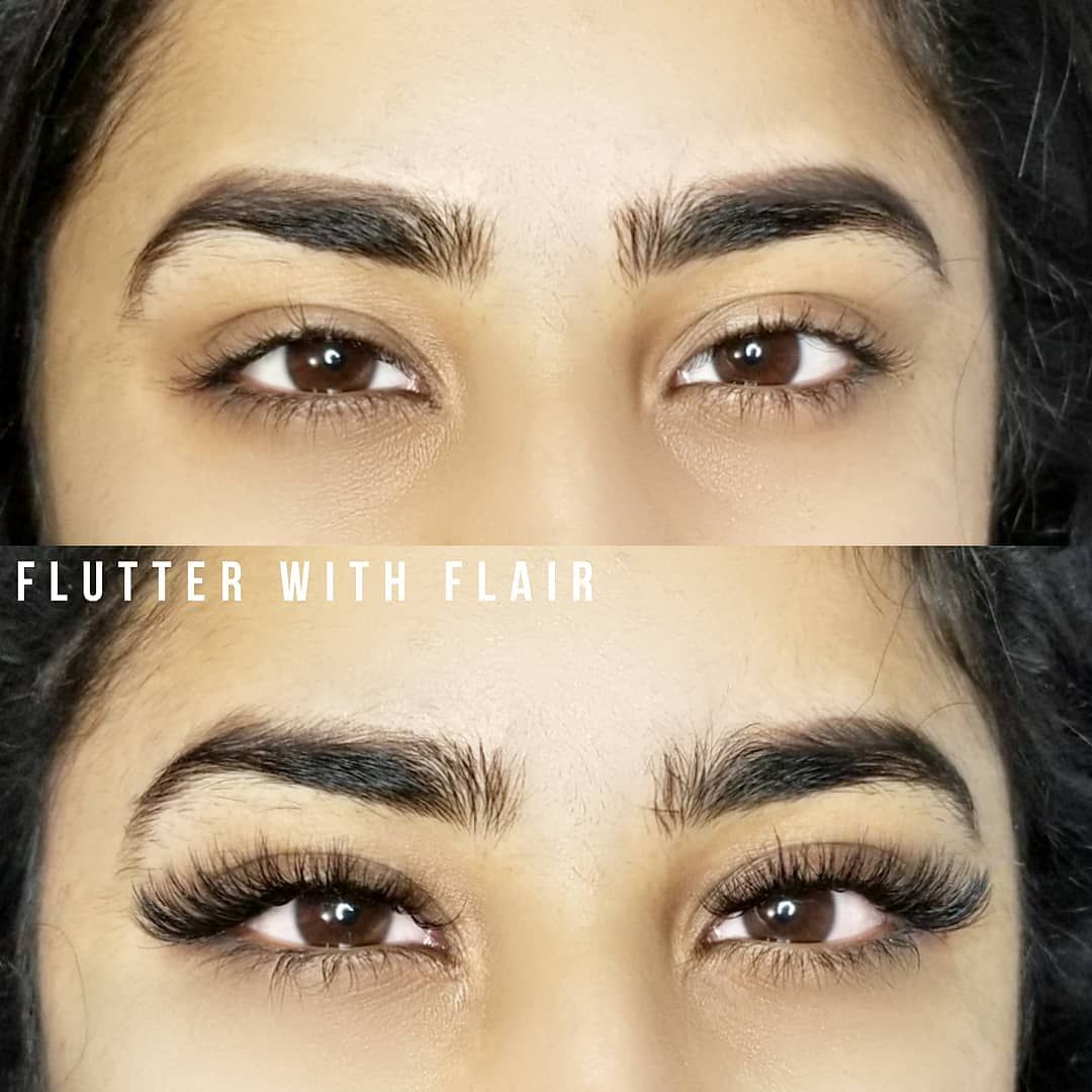 Before and After lash Extensions | Professional eyelash ...