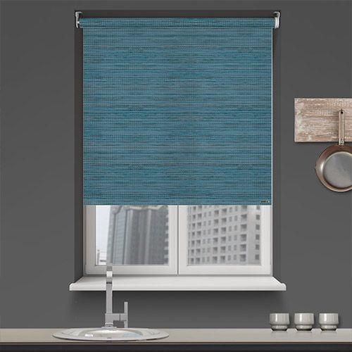 Controliss Luxe Ocean Battery Powered Roller Blind Home Homedecor Interiordesign Decor Rollerblinds Createyourhome Bu With Images Roller Blinds Budget Blinds Blinds