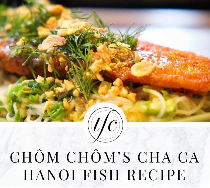 Cha Ca Hanoi Fish Recipe   Healthy Dinner Recipe  