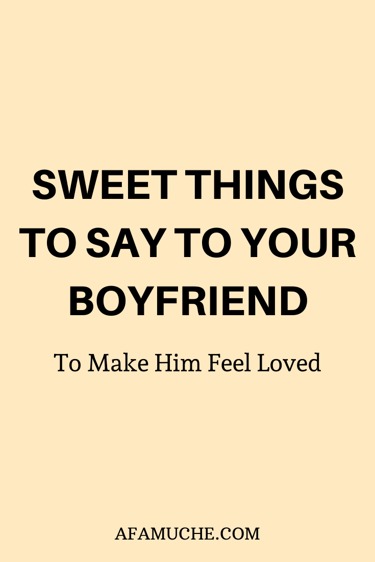 How To Make Him Feel Special Quotes