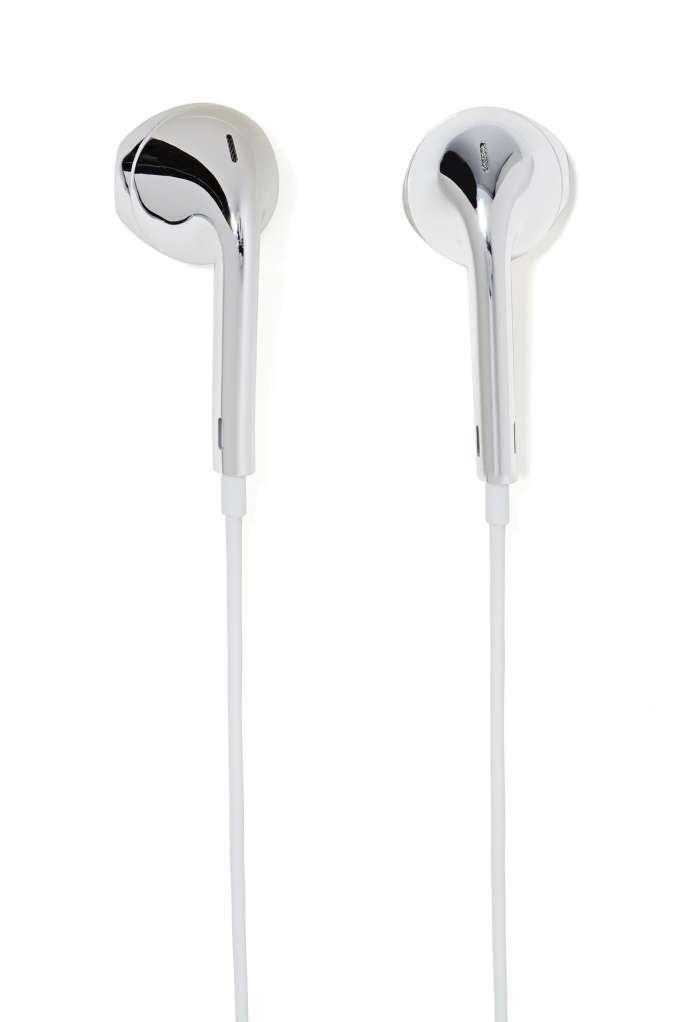 Hear No Evil Earbuds - Chrome