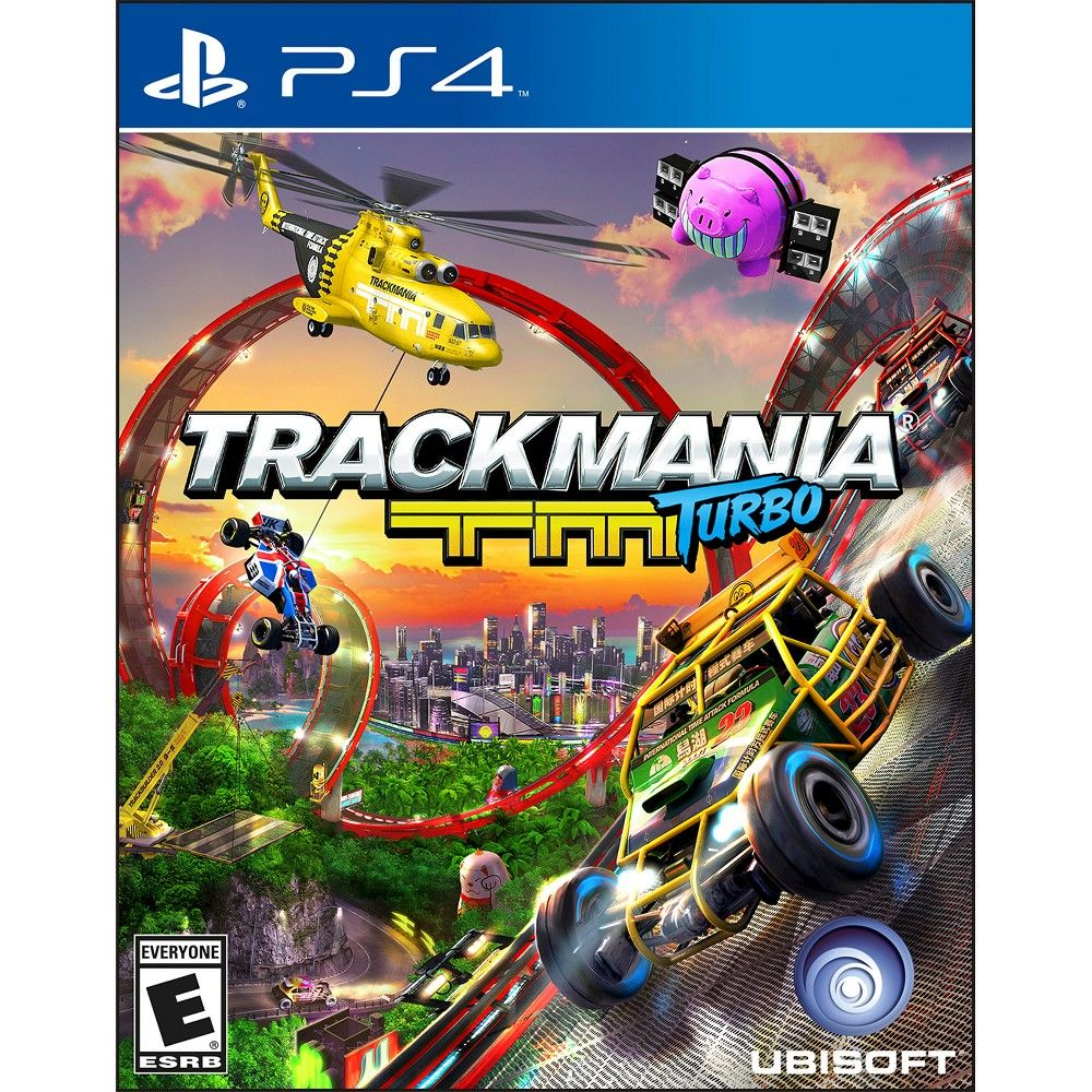 TrackMania Turbo (PlayStation 4) Xbox one, Ps4 racing