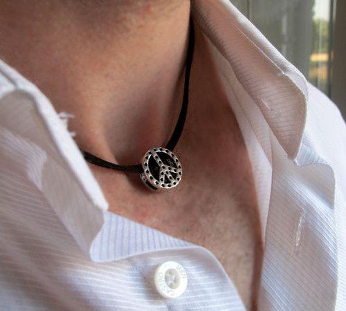 Mens pendant necklace