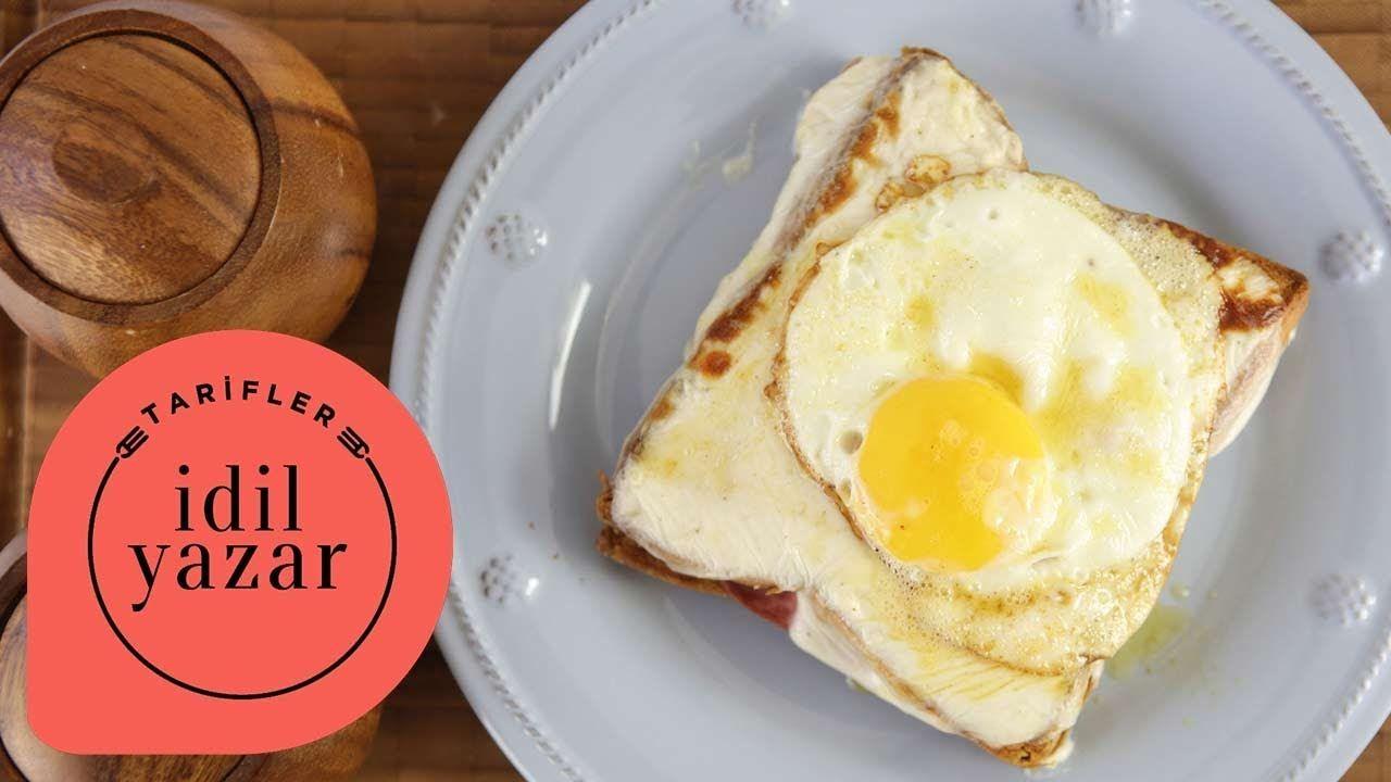 İngiliz Muffin ve Poşe Yumurtalı Sandviç
