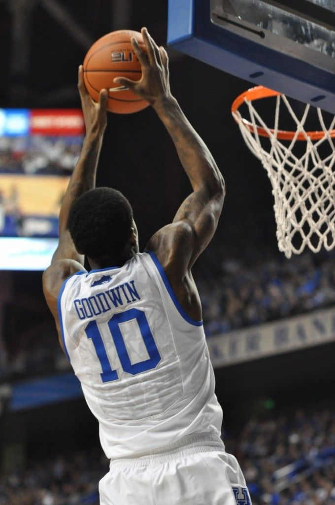 """Archie Goodwin has shown signs of being able to """"drag"""" his teammates, but not on a consistent basis quite yet. (photo by Chris Reynolds)"""