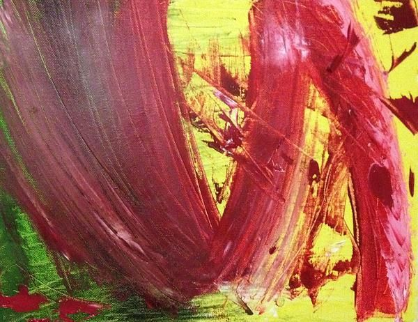 Title  Red Route  Artist  Jason ODell  Medium  Painting - Oil On Canvas