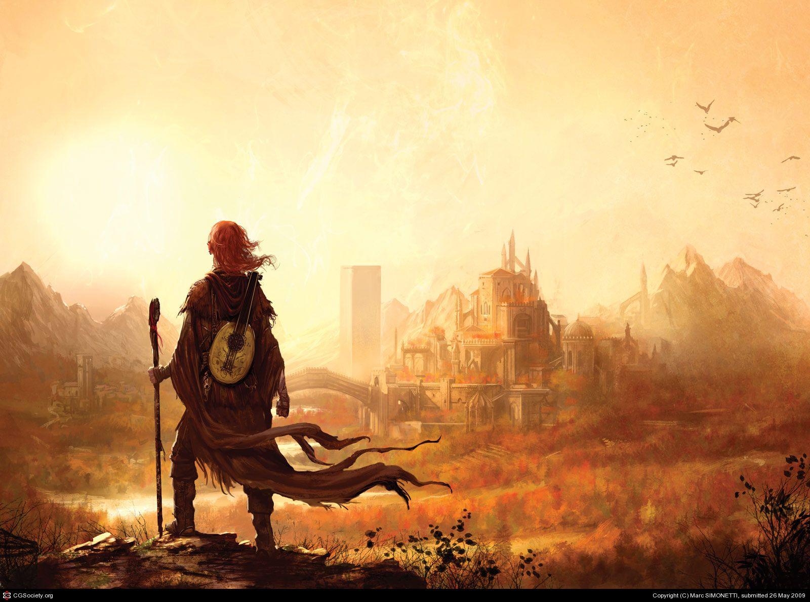 Resultado De Imagem Para Kingkiller Chronicles Wallpaper Cover