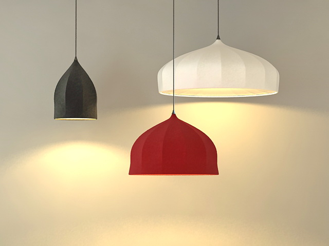 Modern Pendant Lamps 3d Model 3ds Max Files Free Download Modeling 36569 On Cadnav