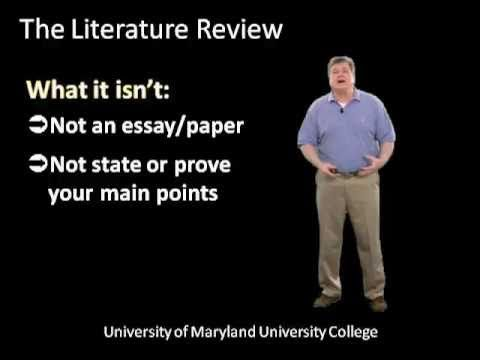 Writing The Literature Review Part One Step By Step Tutorial For Graduate Students Essay Writing Help Dissertation Academic Writing