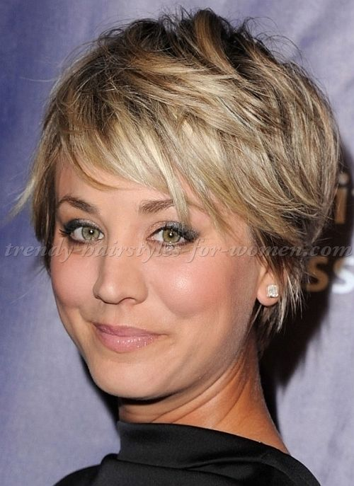 Pixie Cut Pixie Haircut Cropped Pixie Kaley Cuoco Short Hair