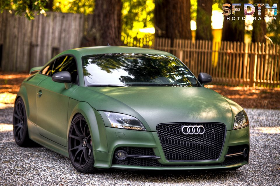 Audi Tt Army Green Collector Dream Pinterest Army Green