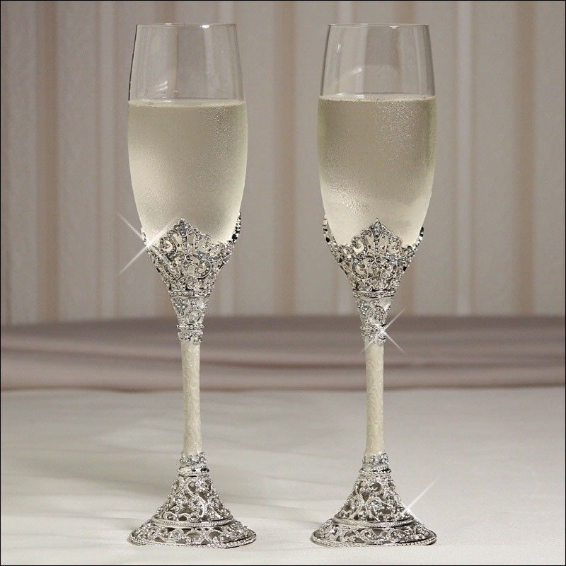 tiffany champagne flutes wedding 2011 weddingprice list