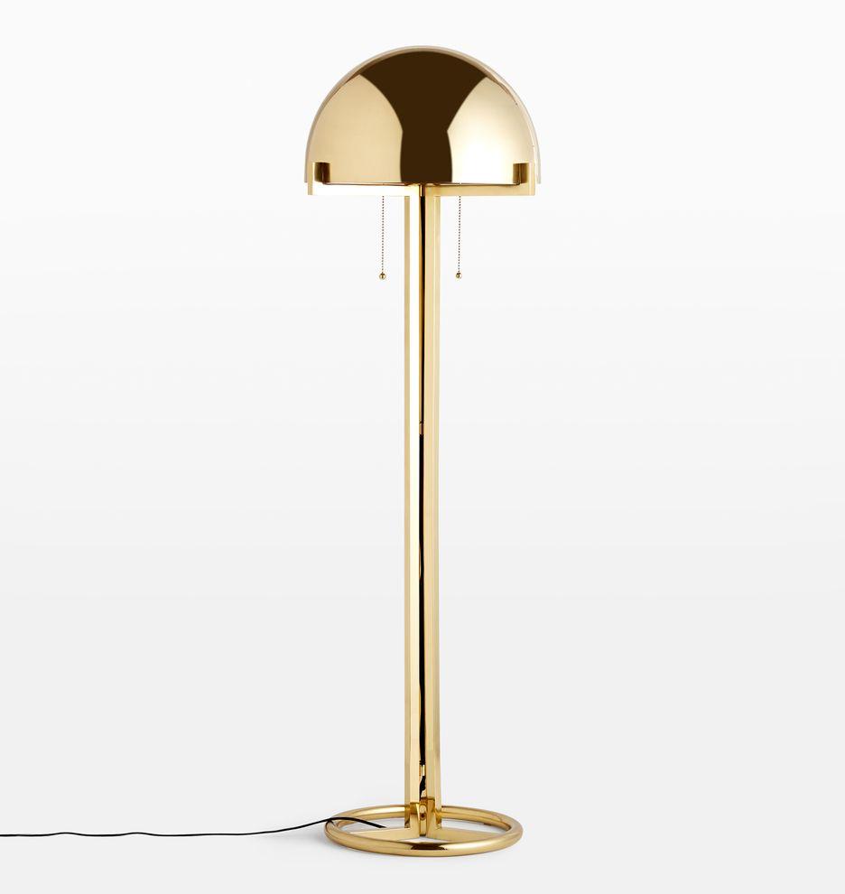 Altadena Metal Shade Floor Lamp In 2020