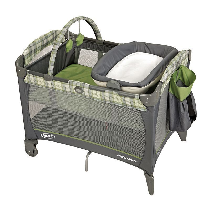 Graco Reversible Napper and Changer Pack 'N Play Playard, Multicolor