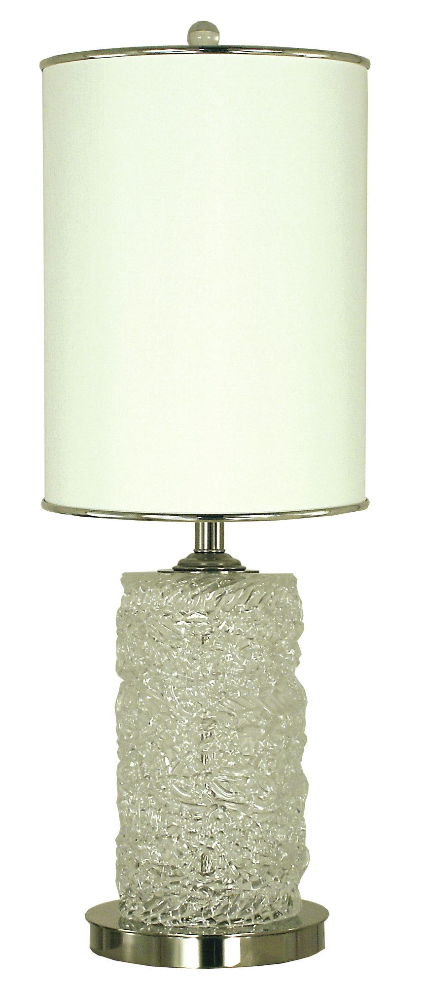 """Brocatto 31"""" H Table Lamp with Drum Shade"""