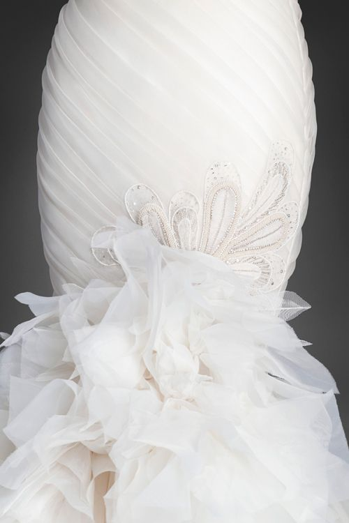 Lazaro Bridal Collection - Fall 2015 (detail)