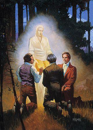 joseph smith witnessses moroni gold plates witness olive cowdrey david whitmer lds mormon gospel art church history