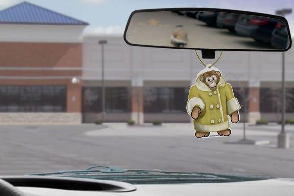 Runaway Monkey Air Freshener—honoring 1 of the very few #Toronto icons recognized around the world.