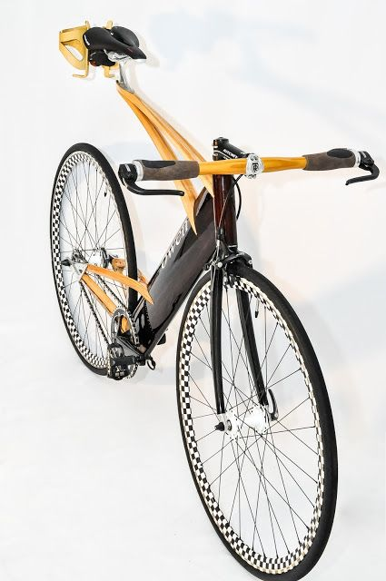 Wooden Fixie By Ken Stolpmann Canada Bicicletas Bici Fixie