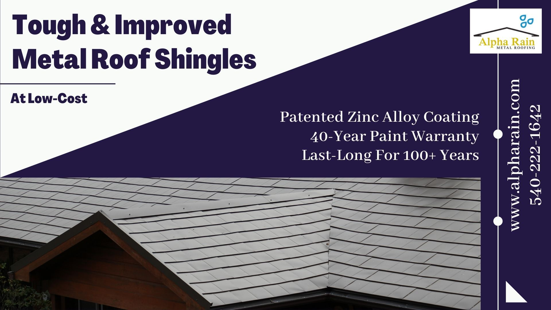 Can Metal Shingles Beat The Installation Price Of Asphalt In 2020 Metal Shingles Metal Shingle Roof Shingling