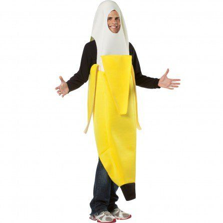 adult peeled banana costume more - Banana Costume Halloween
