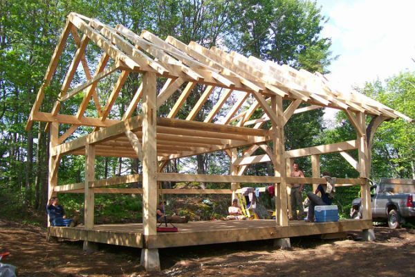 Post And Beam Cabin Plans Redwood Post And Beam Timber Framing Timber Frame Cabin