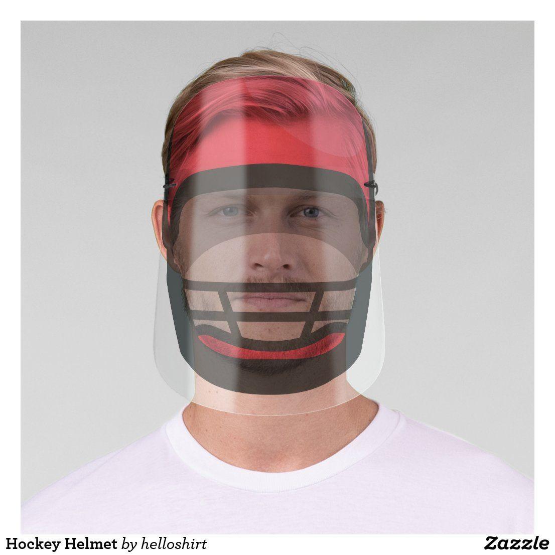 Hockey Helmet Face Shield in 2020 Hockey