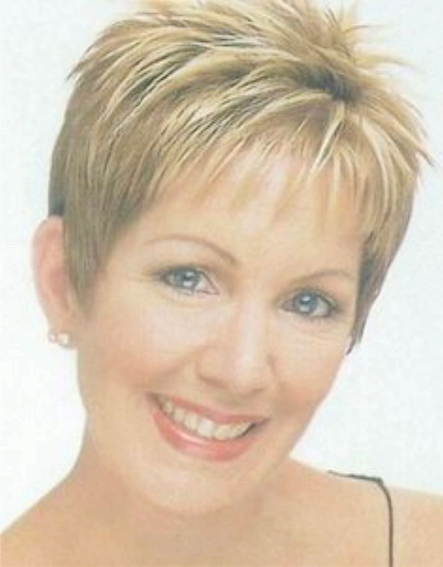 Short Haircuts For Older Women With Thick Hair Hair Style And