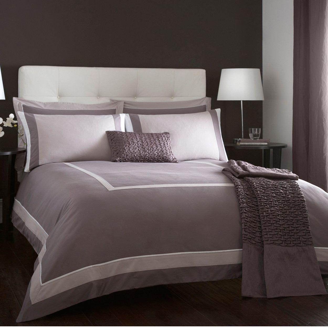 J By Jasper Conran Lilac Connaught Bed Linen At Debenhams Ie