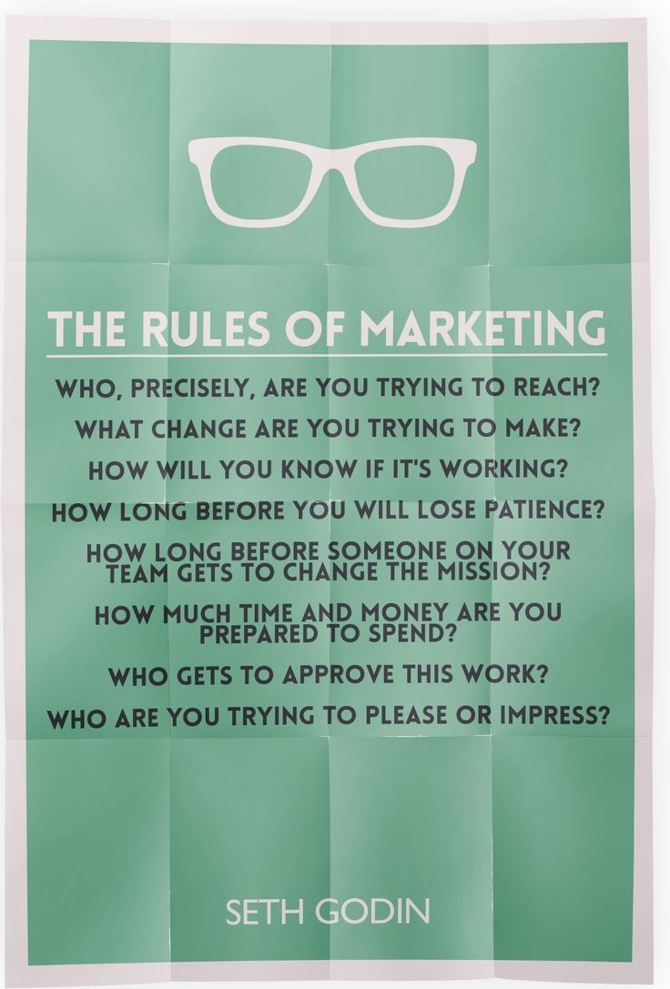 Marketing Quotes The Rules Of Marketing From Seth Godinmarketing Quotes Rules