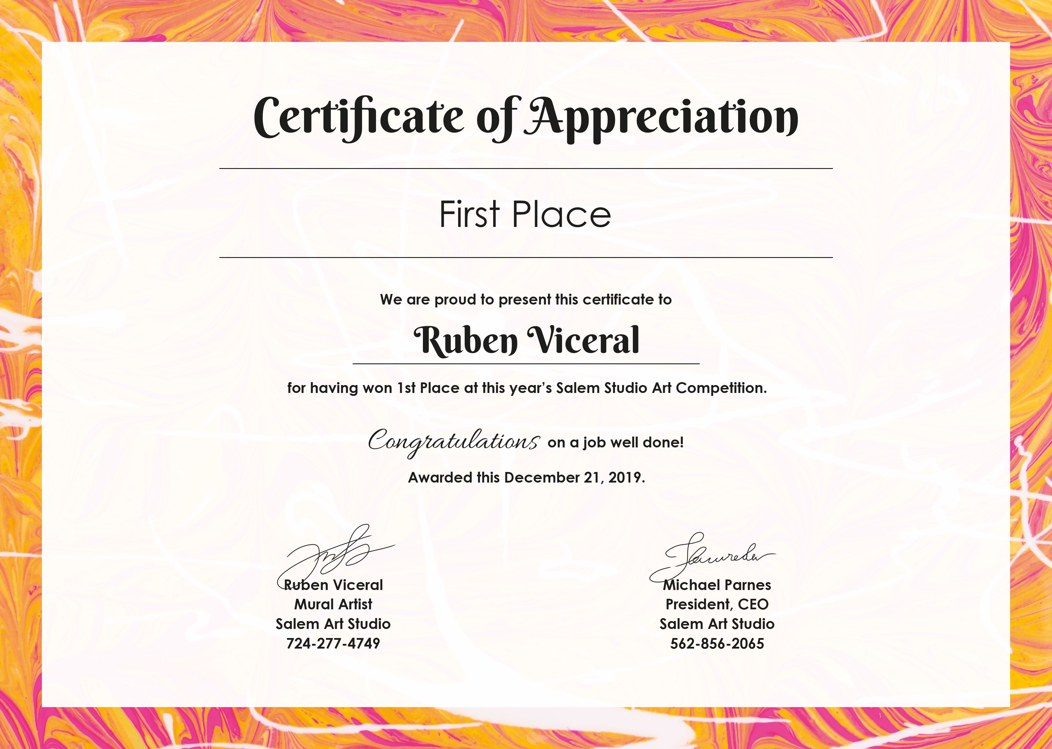 Appreciation Certificate Template Free Jpg Google Docs Illustrator Indesign Word Outlook Apple Pages Psd Publisher Template Net Certificate Of Appreciation Certificate Templates Certificate Of Recognition Template Google docs certificate of appreciation