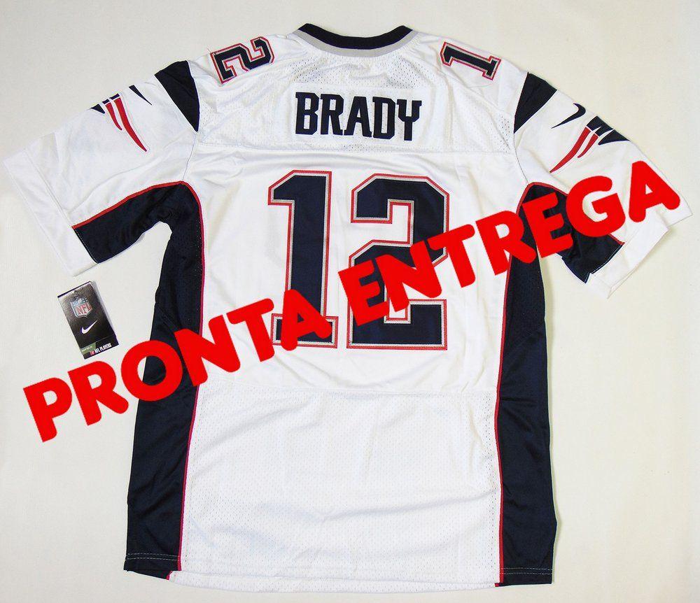 469e4ae4a5 Camisa New England Patriots - 12 Tom Brady - PRONTA ENTREGA Futebol  Americano
