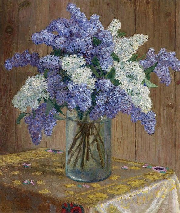 Still Life With Lilacs. Nikolai Petrovich Bogdanov-Belsky