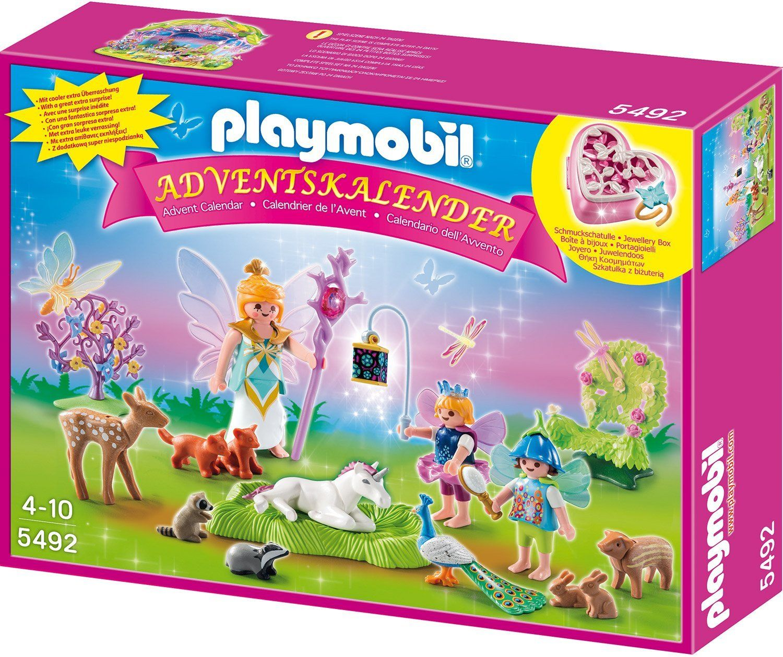 Playmobil Weihnachtskalender.Playmobil 5492 Adventskalender Einhorngeburtstag Im Feenland
