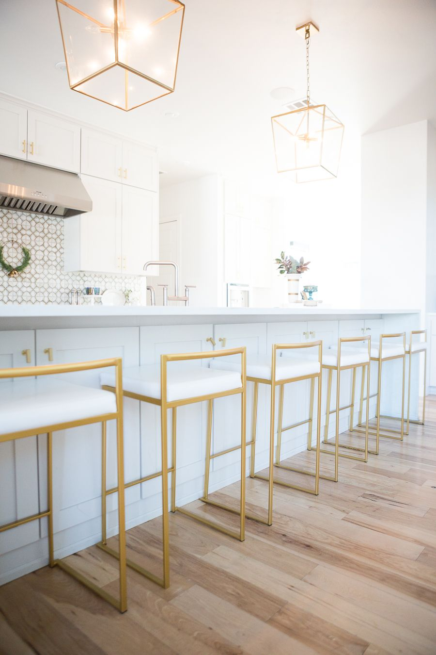 10 Affordable Gold Bar Stools For Home Design Cc And Mike Lifestyle And Design Blog Modern Kitchen Design Gold Bar Stools Kitchen Bar Stools