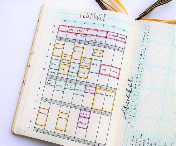 Bullet Journal Layouts To Jump Start 2018
