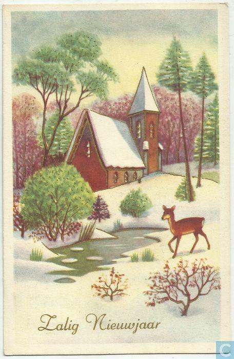 Zalig Nieuwjaar - 1956, Netherlands
