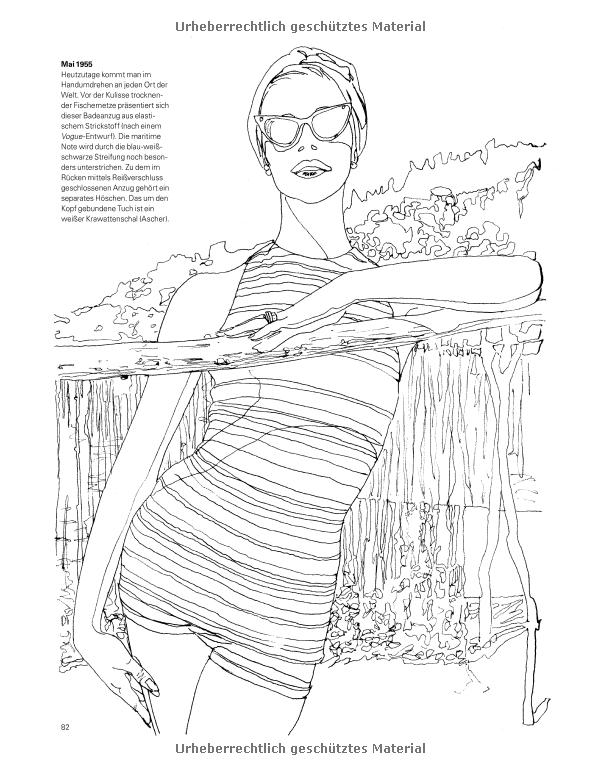 VOGUE - Das Malbuch: Amazon.de: Iain R. Webb: Bücher | Coloring ...