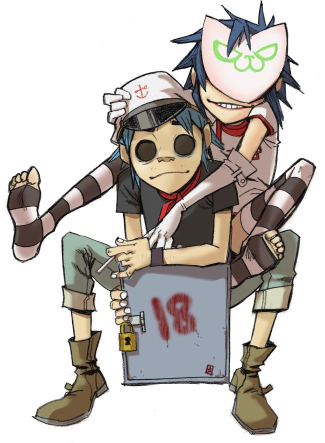 Y Gorillaz Love this picture of t...