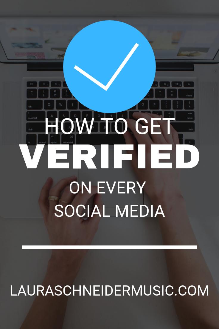 How To Get Verified On Social Media Social Media Blog Social Media Facebook Marketing