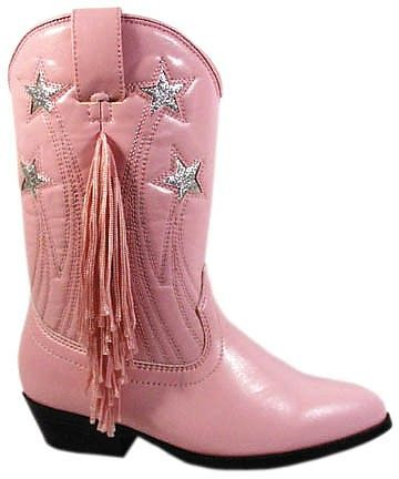 Girls Pink Cowboy Boots w/ Fringe for the granddaughters! love em ...