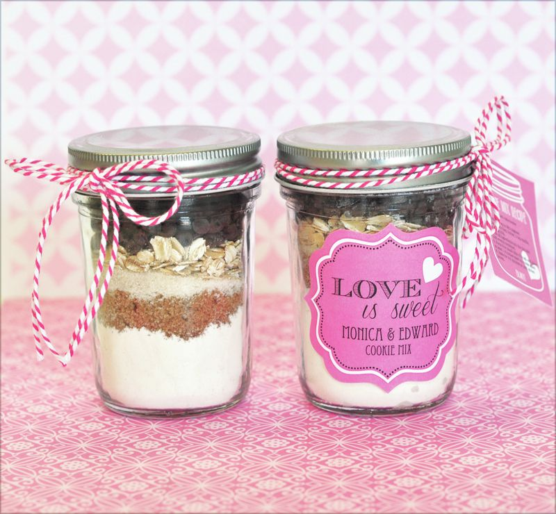 wedding favors ideas do it yourself%0A Event Blossom offers these Cookie Mix Mason Jar Recipe Tags and other unique  and creative wedding favors and special event favors among its trendy  product
