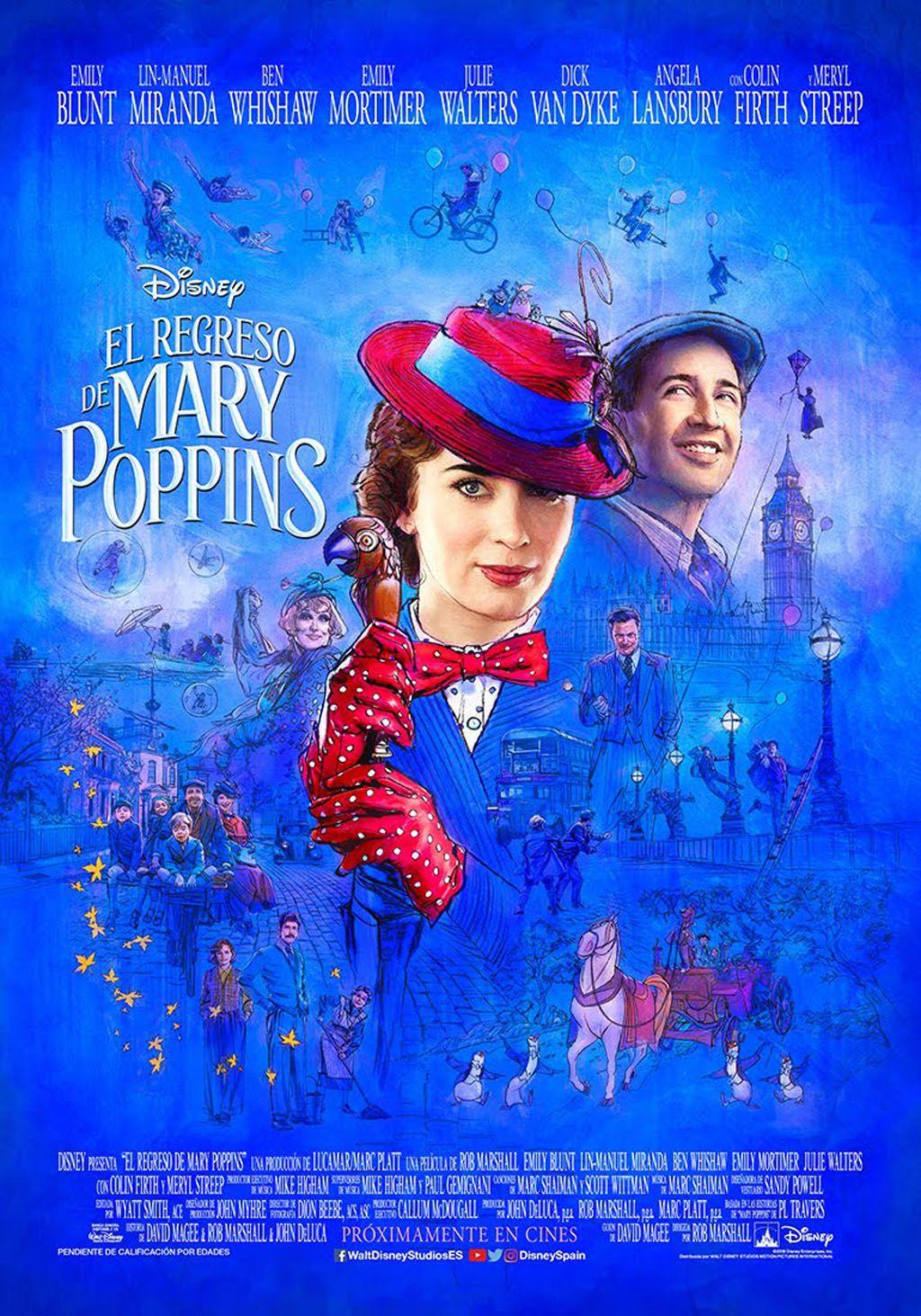 El Regreso de Mary Poppins Películas completas gratis