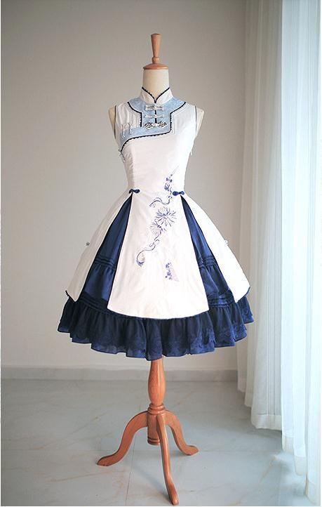 chinese dress   Oriental Style   Pinterest   Selbst genäht, Kleider ...