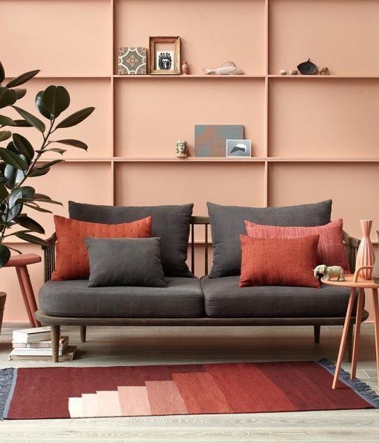 Inspiratieboost een warme woonkamer met terracotta