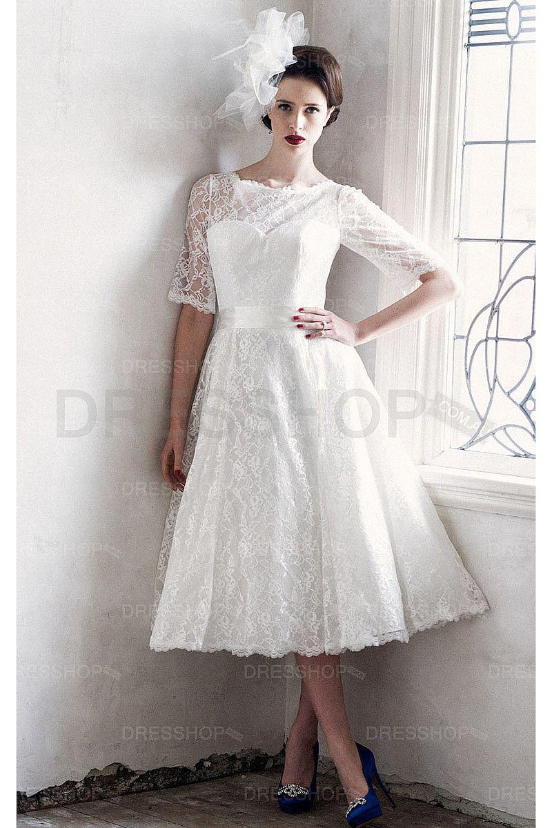 Short wedding dresses plus size  Short Zipper Lace Princess Natural Wedding Dresses  Short Wedding