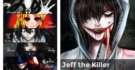 Which Creepypasta are you Most Like   Which creepypasta