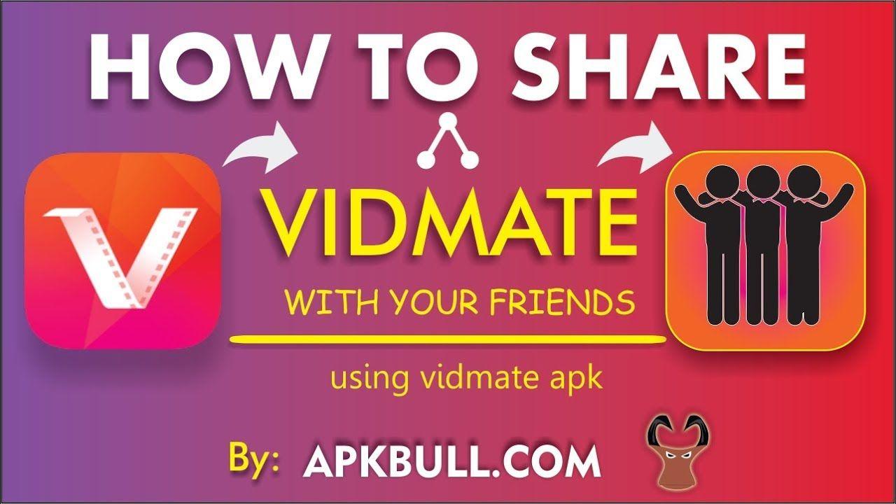 How to share Vidmate APK on WhatsApp, Bluetooth, WiFi