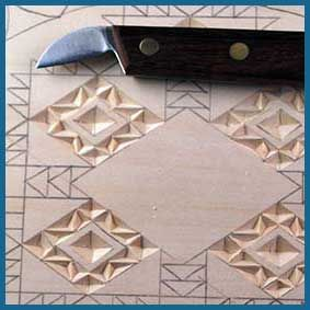 Free chip carving patterns projects and plans wood carving