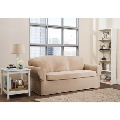 Fine Maytex Smart Fit Roland 2 Piece Polyester Stretch Sofa Alphanode Cool Chair Designs And Ideas Alphanodeonline